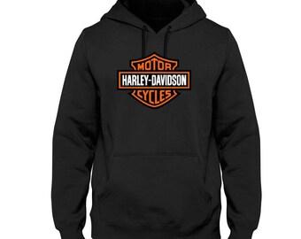 95fbcc281 Harley Davidson Men's Logo Sweatshirt Hoodie