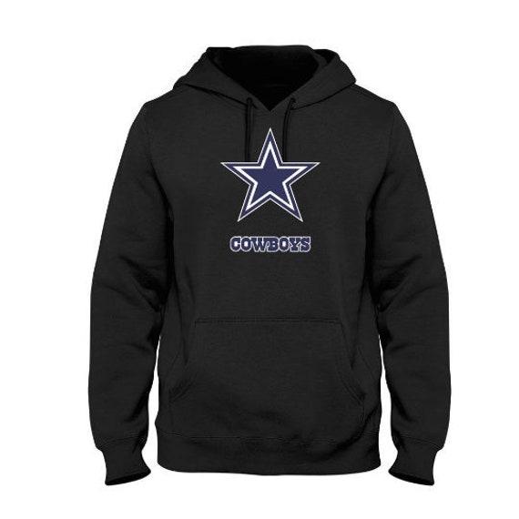 online retailer 1c3e3 a6aff Dallas Cowboys logo men's custom made hoodie