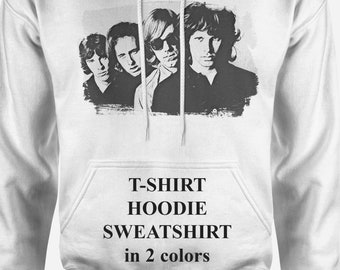 ef04fb130ef38 The Doors Band T Shirt The Doors Poster Jim Morrison Shirt Sweatshirt Men  Hoodie Men Hoodie Women Sweatshirt Women Sweatshirt Hoodie Unisex