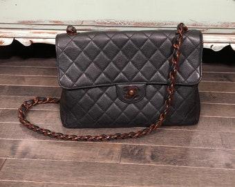 681dbe2c5f2c Vintage CHANEL Classic Maxi Flap Bag