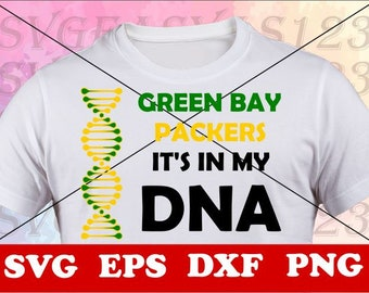 0a6583e683a Green Bay Packers, Green Bay Packers svg, Green Bay Packers dna SVG Files,  Green Bay Packers t shirt, Green Bay Packers svg,