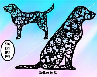 Dog Mandala Svg Etsy