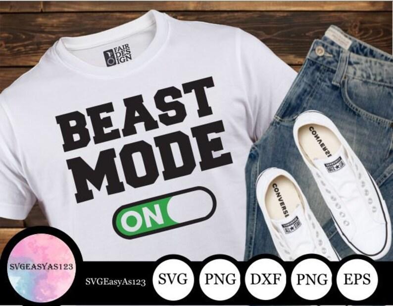 Beast mode SVG gym SVG work out SVG Cut File gym svg image 0