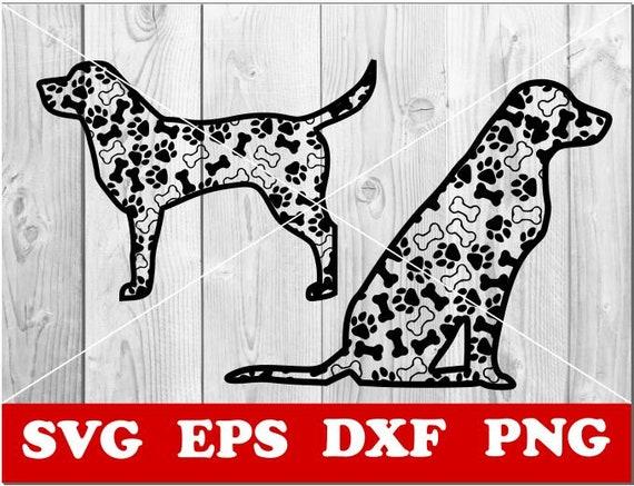 Paper cut Labrador mandala Svg Vector Cricut Zentangle SVG Dog SVG Labrador svg Silhouette CNC plasma Dog Mandala Mandala svg