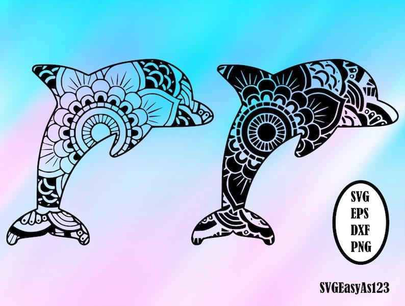 300+ Dolphin Mandala Svg Free – SVG Bundles