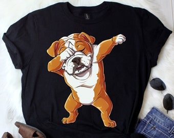 465ed887 Dabbing English Bulldog / English Bulldog Shirt / English Bulldog Gifts / English  Bulldogs / English Bulldog Tee / Tank Top / Hoodie