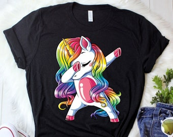 04dd17e09fd Dabbing Unicorn Shirt   Unicorn Shirt   Unicorn Gifts   Unicorns   Rainbow  Unicorn   Unicorn T shirt   Unicorn Squad   Tank Top   Hoodie