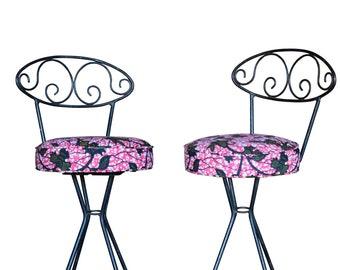 Fine Swivel Bar Stool Etsy Gamerscity Chair Design For Home Gamerscityorg