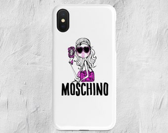 0acedf241fe Moschino Pink Lady iPhone Case