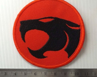 7.00 cm.x1pc. thundercats thunder cats vintage sign logo emblem super hero  embroidery embroidered iron on sew patch badge applique cap shirt f1ebd3bbab63