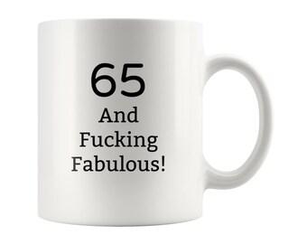 Cadeau Voor 65 Jaar Oud Etsy