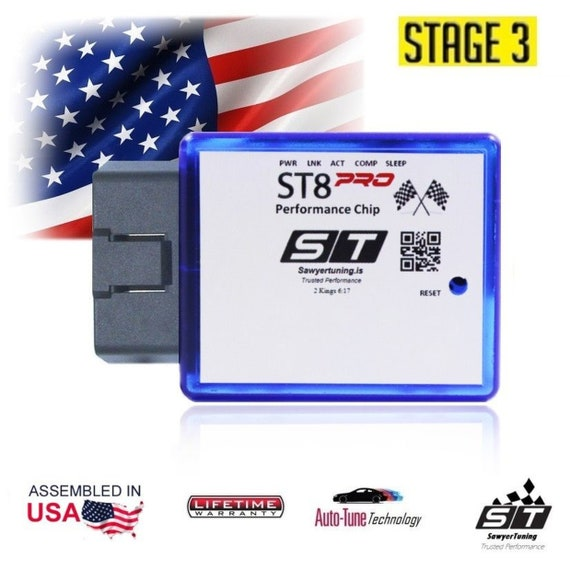 For Lexus Stage 3 Performance Chip ECU Tuner Fuel Race Engine Speed Plug Play
