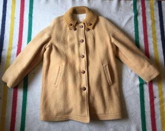 hudson bay wool coat