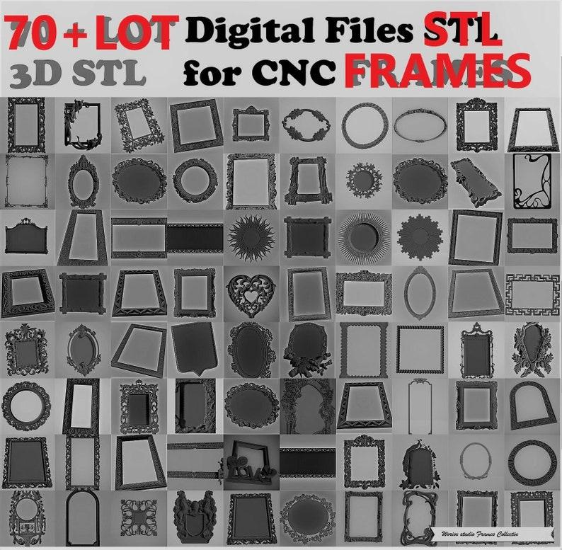 300 LOT 3D Model STL relief for cnc STL format LOT