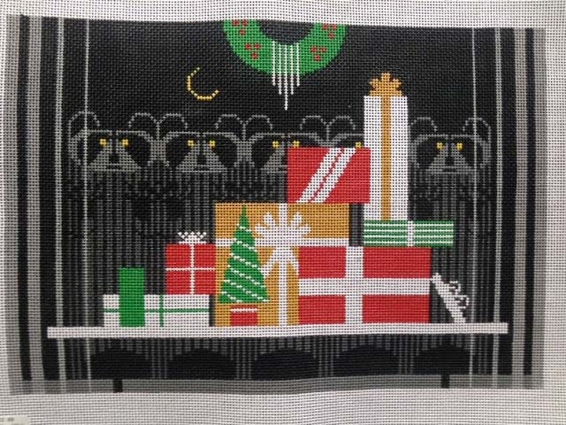 Needlepoint Stitch Guide Christmas Caper Charley Harper Designs