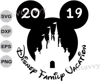 Trip To Disney Svg Etsy