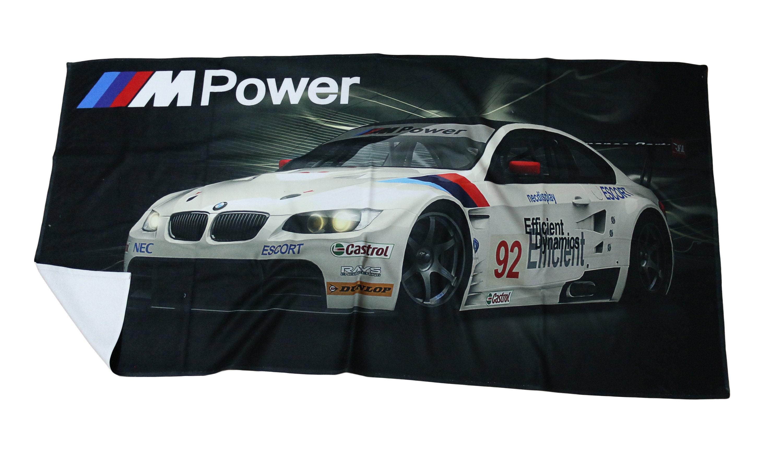 2x CAR LICENCE NUMBER PLATE SURROUNDS HOLDER FRAMES for BMW MOTORSPORT
