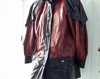 d6fb741c9 Ysl leather jacket   Etsy
