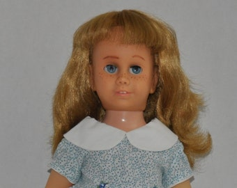 f3032fb0b3d Vintage Chatty Cathy  5 Body - Hard Face - blonde Pigtail