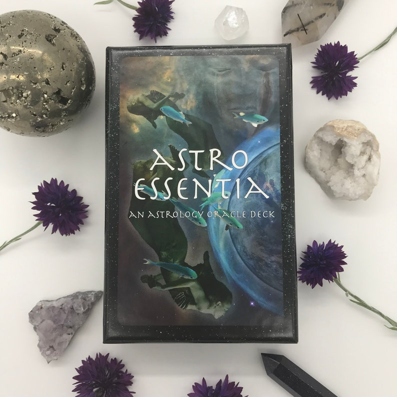 ASTRO ESSENTIA:  An Astrology Oracle Deck image 0