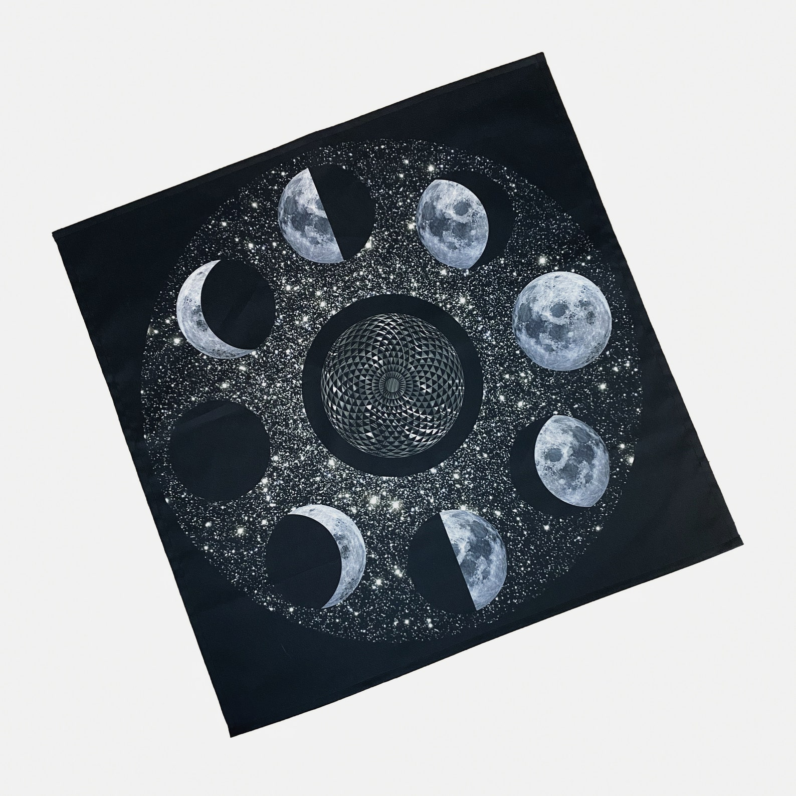 moon phases tarot cloth