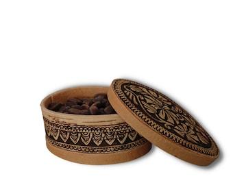 Siberian birch bark Natural materials Handmade Luxurious Hairpin Environmentally friendly product!