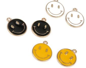 ALIEN SMILEY FACE METAL NOVELTY ROUND CIRCULAR SIGN