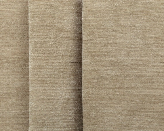 New Soft Designer Linen Look Chenille Upholstery Curtains Wine Fabrics Material