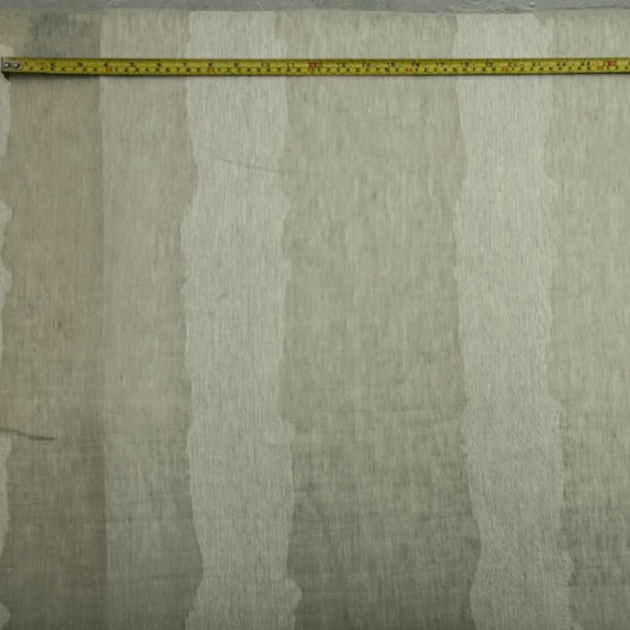 DESIGNER 100/% LINEN RED /& OFF WHITE TEXTURED STRIPED CURTAIN FABRIC 3OOCM WIDE