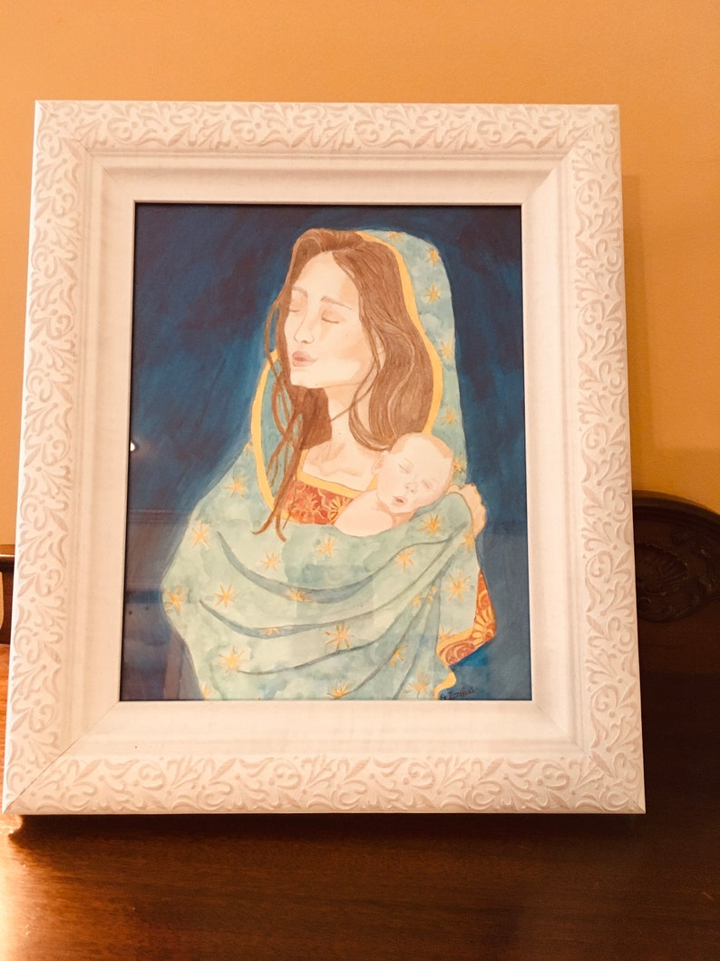 Our Lady of Guadalupe and the Sleeping Christ Child