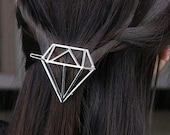 Hair pin, hair clips, new style for hair. Pin steel silver color.
