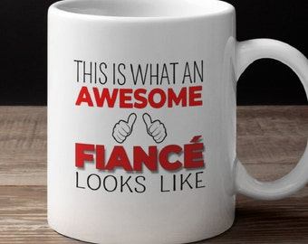 Awesome Fiance Gift Mug Idea For Him Birthday Engagement