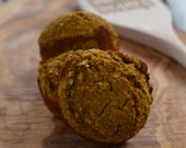 Pumpkin Spice Protein Muffins (Dairy and Gluten Free) - Vegan Options Available
