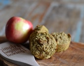 Apple Pie Protein Muffins (Dairy and Gluten Free) -   Vegan Option Available