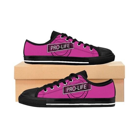 Pro-Life Women's Sneakers