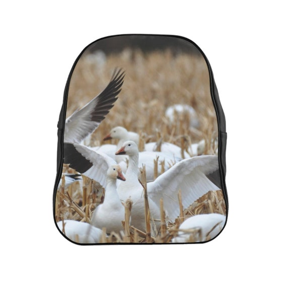 Snow Geese School Backpack