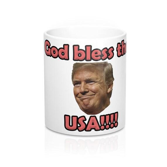 God Bless The USA Mug 11oz