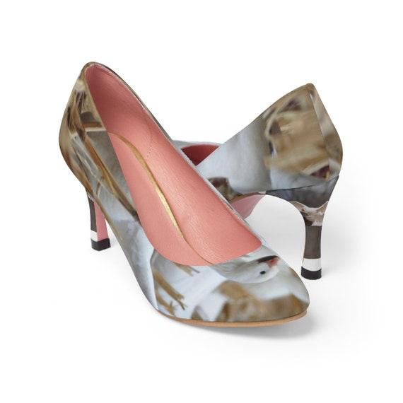 Snow Geese Close-Up Women's High Heels