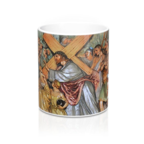 Stations of the Cross Monastery Mug 11oz