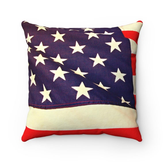 Independence Day/Fourth of July Pillow (rugged look)