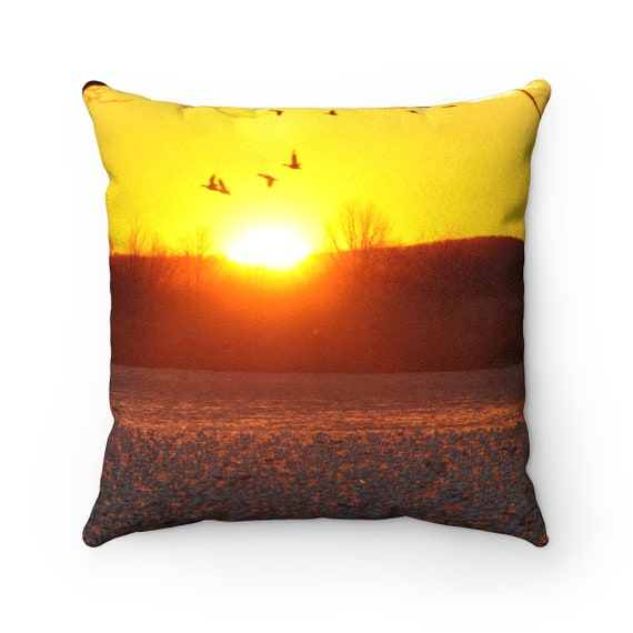 Luxurious Sunrise Faux Suede Pillows (FREE SHIPPING)