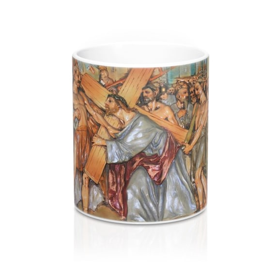 Stations of the Cross Mug 11oz