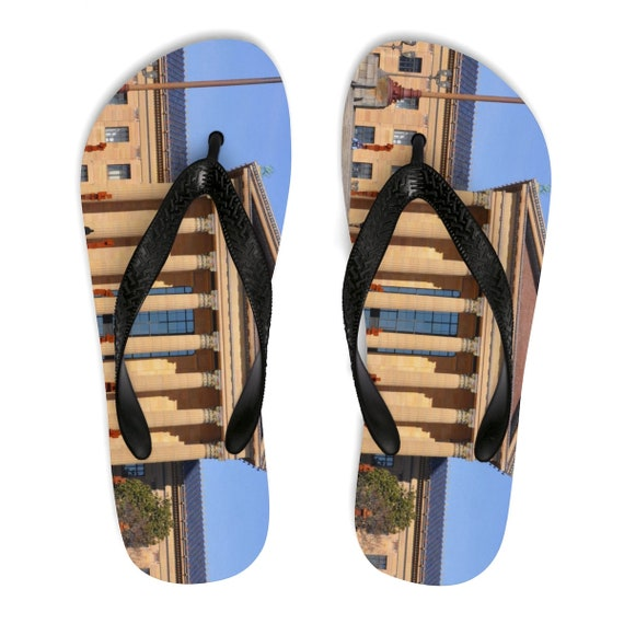 Art Museum Flip-Flops (Unisex)