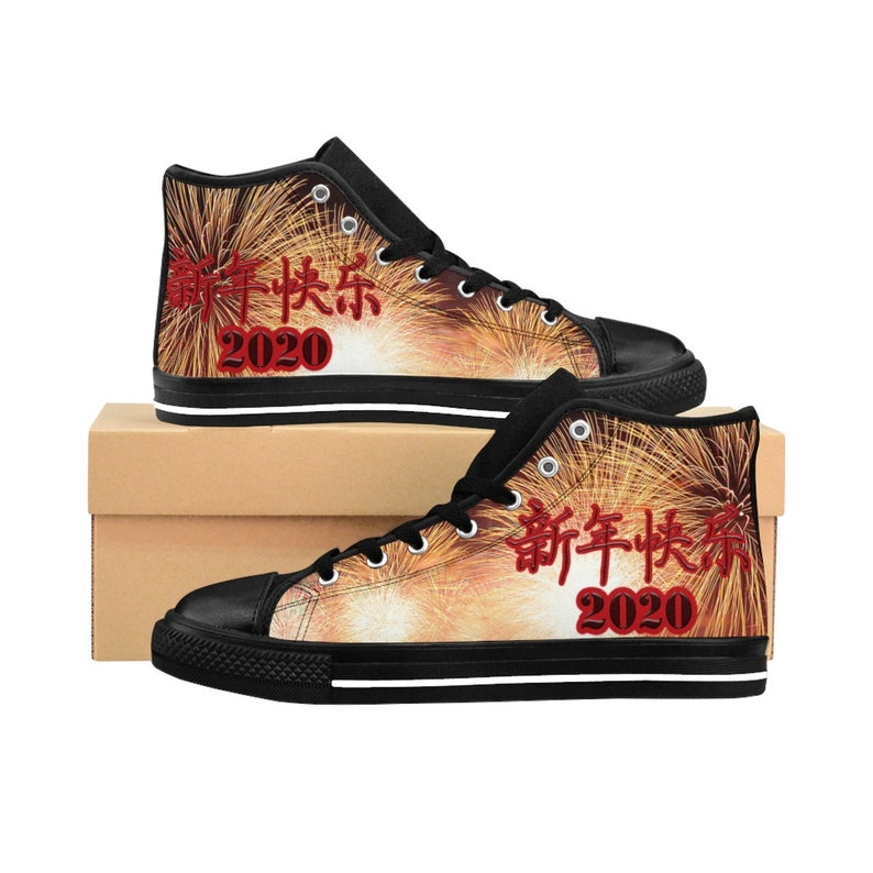 Best Sneakers 2020 Womens Chinese New Year 2020 Women's High top Sneakers   Etsy