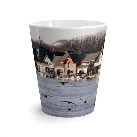 Philly Boat House Row Latte Mug