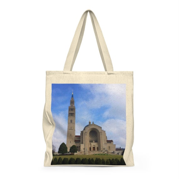 Basilica Shoulder Tote Bag - Roomy