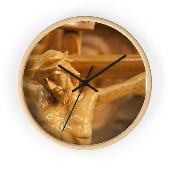 Jesus Wall Clock