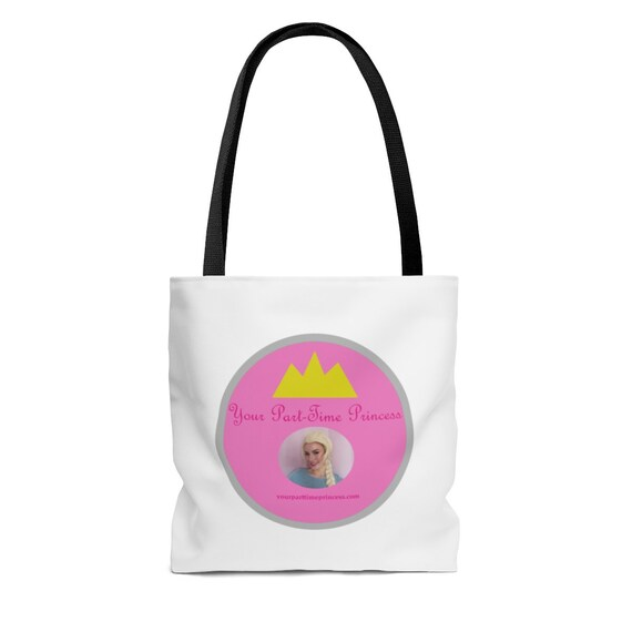 Your Part-Time Princess AOP Tote Bag