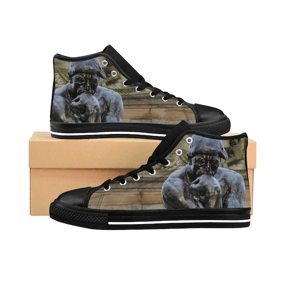 The Thinker Men's High-tops (See description before purchasing)