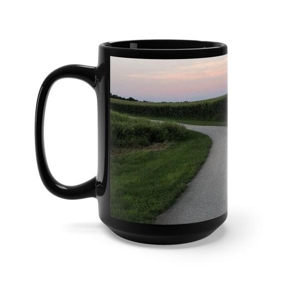 The Path Black Mug 15oz